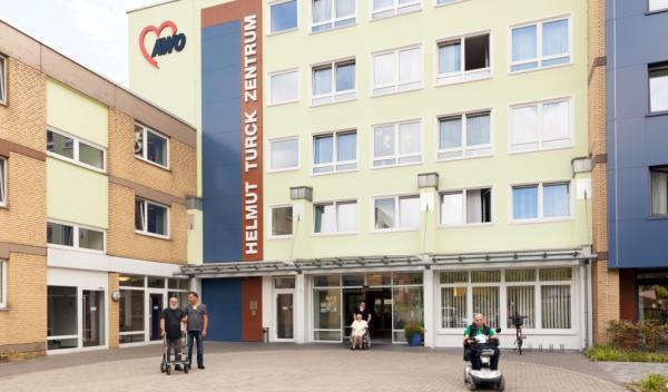 Helmut-Turck-Zentrum - Eingangsbereich